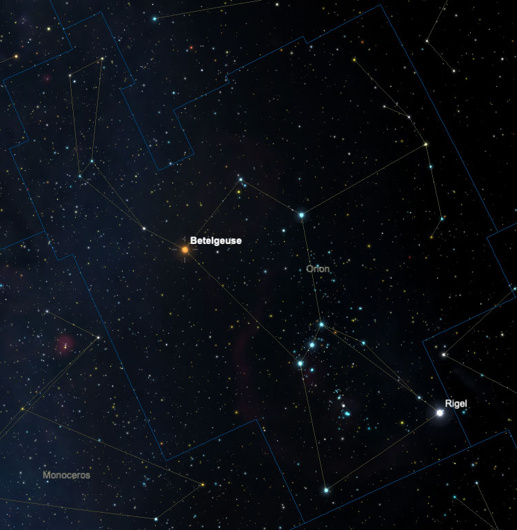 Orion Betelgeuse