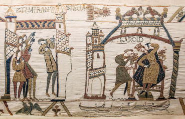 Bayeux Tapestry 32 33 comet Halley Harold