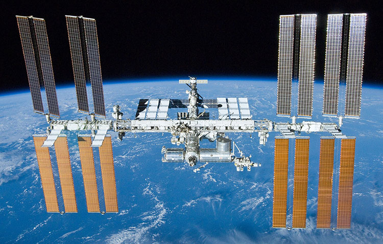 International Space Station after undocking of STS 132