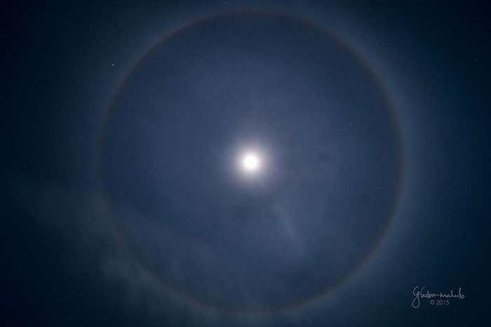 46 degree Lunar Halo