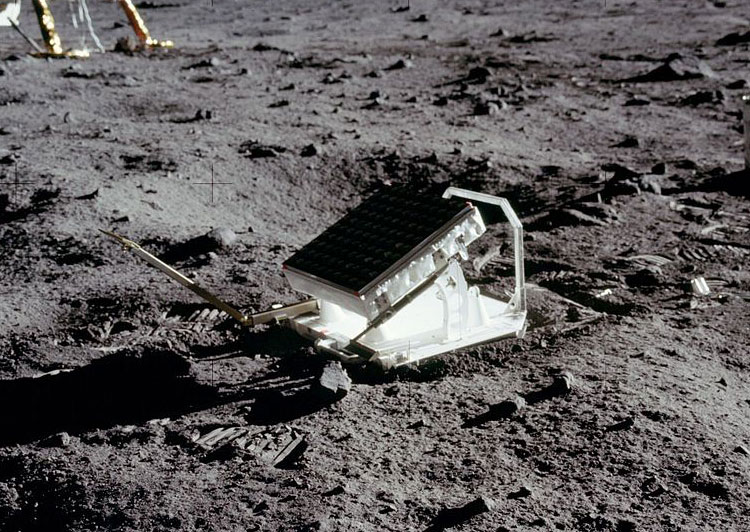 Apollo 11 Lunar Laser Ranging Experiment
